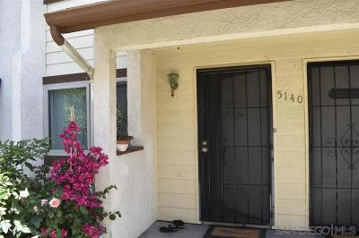 Oceanside Townhouse For Sale: 5140 N River Rd #D