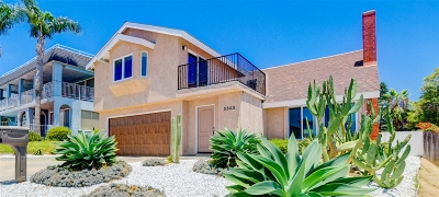 La Jolla Single Family Home For Sale: 5565 La Jolla Mesa Drive