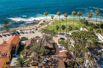 La Jolla Multi Family 2-4 For Sale: 1021 & 1025 Coast Blvd