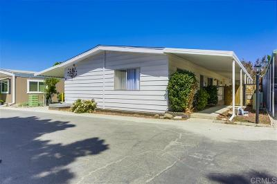 Mobile/Manufactured For Sale: 350 N El Camino Real #12