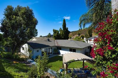 Single Family Home For Sale: 14957 Del Diablo Lane