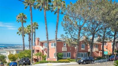 Mission Hills Townhouse For Sale: 2920 Columbia St #A