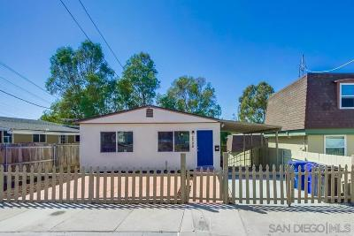San Diego Single Family Home For Sale: 2308 Sumac Dr