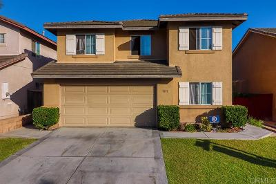 San Diego Single Family Home For Sale: 5051 Cimarron Way