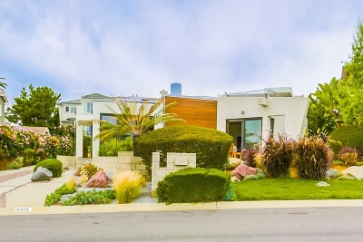 Carlsbad Single Family Home For Sale: 3464 Seacrest