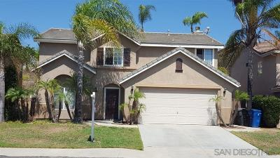 Chula Vista Single Family Home For Sale: 2089 Chateau Ct