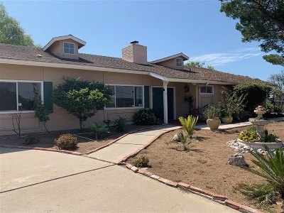 San Marcos Single Family Home For Sale: 3705 Twin Oaks Crest Dr