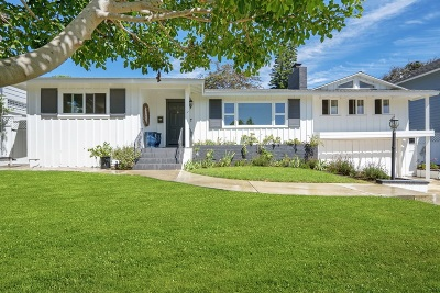La Jolla Single Family Home For Sale: 6127 Beaumont Ave