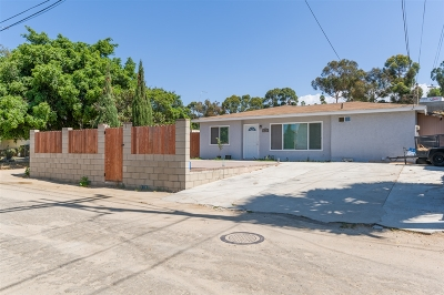 San Diego Single Family Home For Sale: 353 34th St