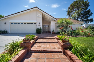 Carlsbad Single Family Home For Sale: 7701 Garboso Place