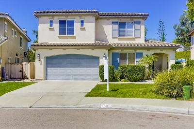Carlsbad Single Family Home For Sale: 3581 Gorge Pl