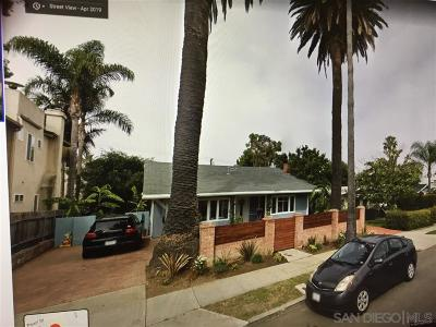 La Jolla Multi Family 2-4 For Sale: 7354 Fay Avenue