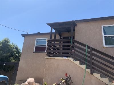 San Diego Single Family Home For Sale: 536 59th. Street