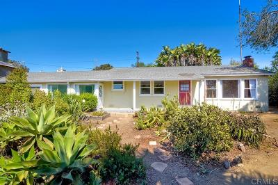 Encinitas CA Single Family Home For Sale: $1,350,000