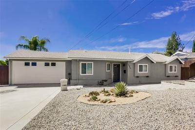 Poway Single Family Home For Sale: 13446 Ogunquit Ave