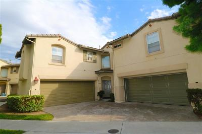 Chula Vista Attached For Sale: 1758 Via Capri