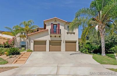 Oceanside Single Family Home For Sale: 5562 Nanday