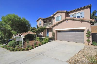 Escondido Single Family Home For Sale: 839 Red Blush Rd