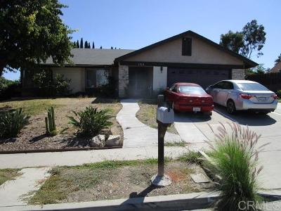 Vista Single Family Home For Sale: 1715 W Knapp Drive
