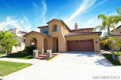 Chula Vista Single Family Home For Sale: 1631 Copper Penny Drive