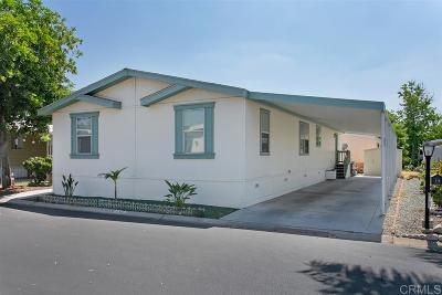 San Diego County Mobile/Manufactured For Sale: 2700 E Valley Pkwy #SPC 178