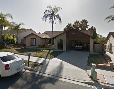 Oceanside Single Family Home For Sale: 3256 Carr St.
