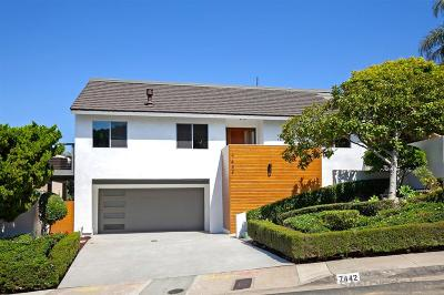 La Jolla Single Family Home For Sale: 7442 Caminito Rialto