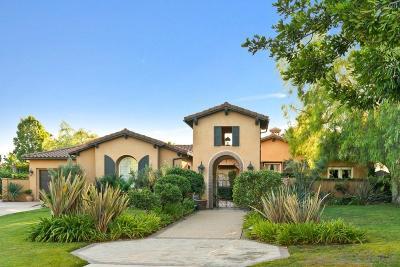 San Diego Single Family Home For Sale: Castello Circle