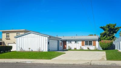 Chula Vista Single Family Home For Sale: 1414 Nacion Ave