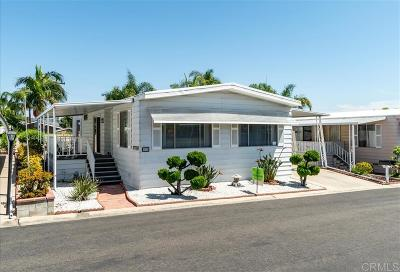 San Diego County Mobile/Manufactured For Sale: 650 S Rancho Santa Fe Rd. #59
