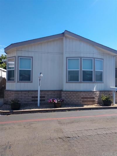 San Diego County Mobile/Manufactured For Sale: 324 Blue Springs Lane