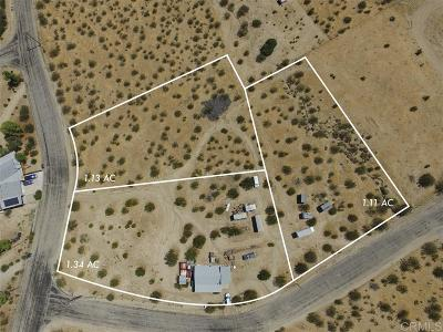 Julian CA Single Family Home For Sale: $150,000