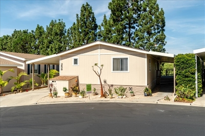 San Diego County Mobile/Manufactured For Sale: 3535 Linda Vista Dr. #258