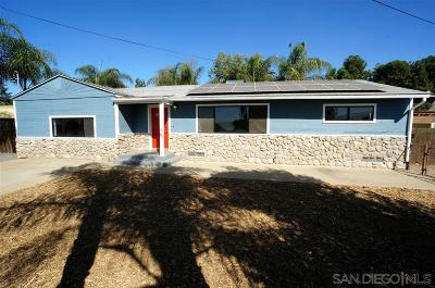 San Diego County Single Family Home For Sale: 1444 Greenfield Dr