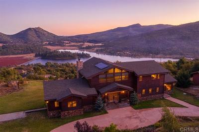 Julian CA Single Family Home For Sale: $1,599,000
