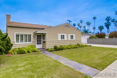Pacific Beach Rental For Rent: 927 Oliver Ave
