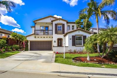 San Marcos CA Single Family Home For Sale: $869,000