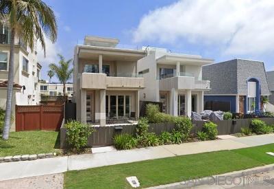 Pacific Beach Rental For Rent: 3987 Honeycutt St