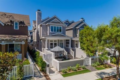 Coronado Single Family Home For Sale: 242 B Ave #A