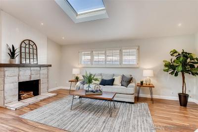 Clairemont Single Family Home For Sale: 4982 Mount Ashmun Drive