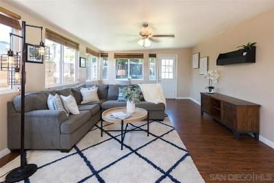 Clairemont Single Family Home For Sale: 5114 Bowden Avenue