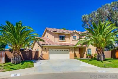 Escondido Single Family Home For Sale: 788 Jet Place
