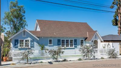 San Diego Single Family Home For Sale: 2228 29th St