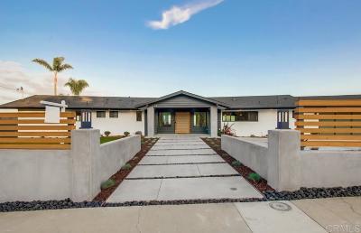 La Jolla Single Family Home For Sale: 2733 Palomino Cir