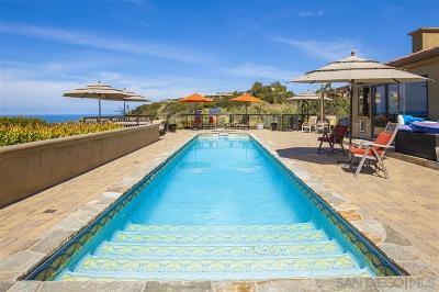 La Jolla Single Family Home For Sale: 2624 Costebelle Dr