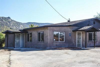 El Cajon Single Family Home For Sale: 8443 Holsofar Rd