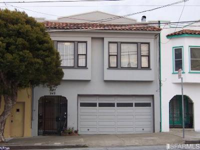 San Francisco County Multi Family Home Act Cont Short Sale: 545 547 London St