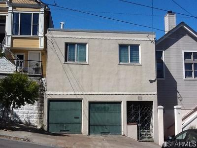 San Francisco County Single Family Home Act Cont Short Sale: 718 San Bruno