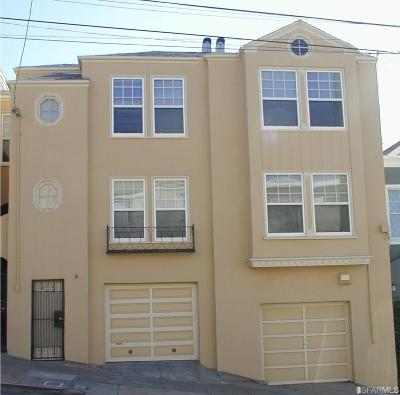 San Francisco County Multi Family Home For Sale: 512 514 35th Ave