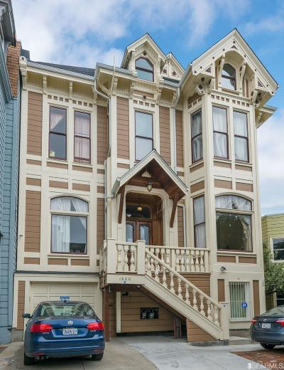 San Francisco County Single Family Home For Sale: 1880 Turk St
